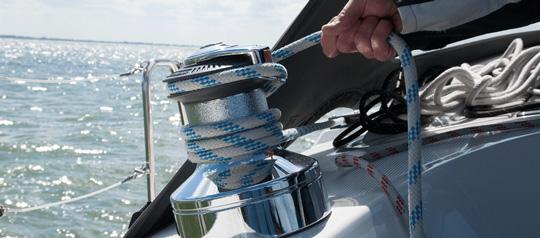 Skippertraining IJsselmeer