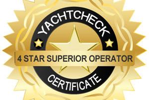 4-Sterne Yachtcharter