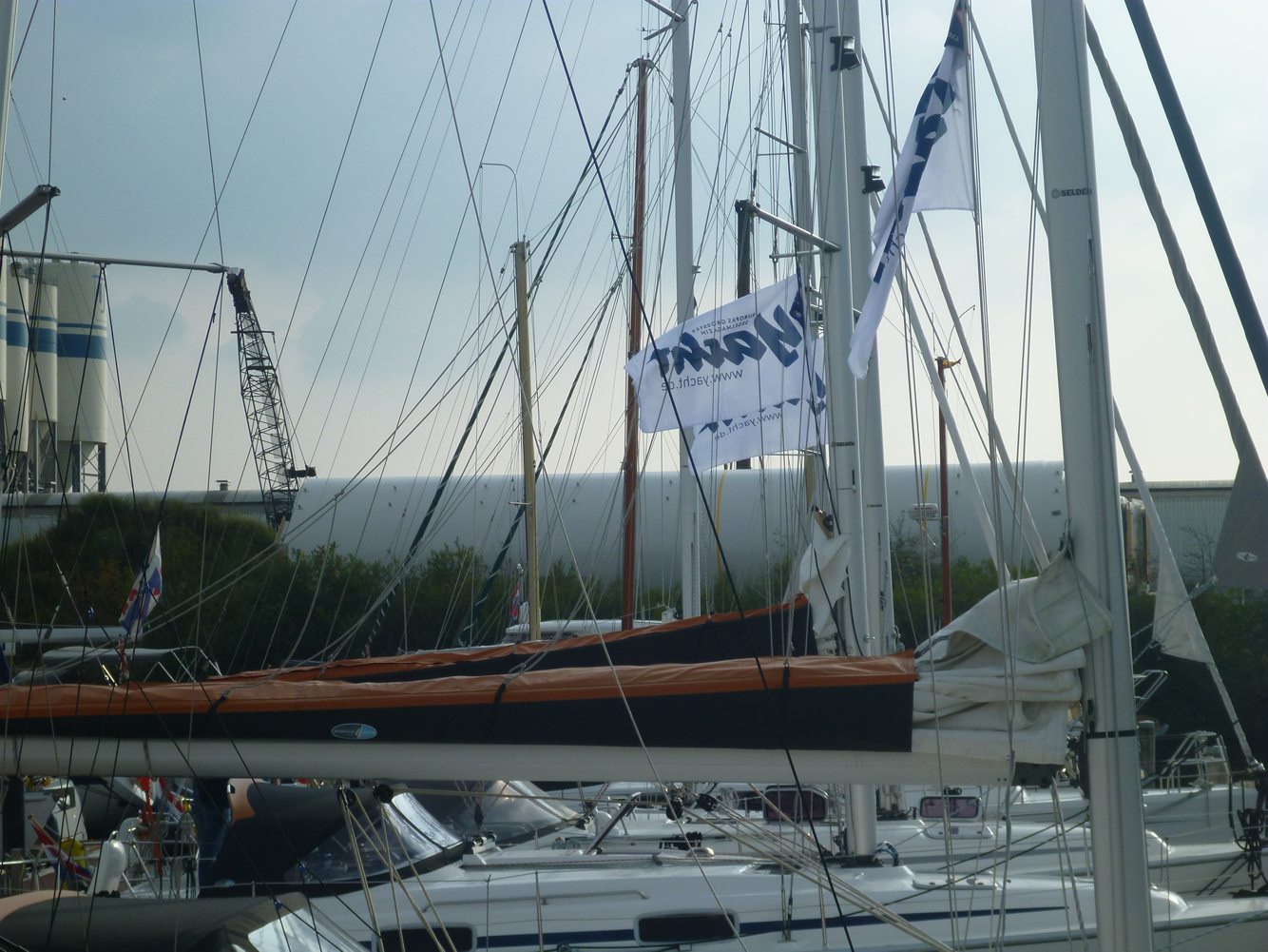 Hafentraining der Zeitschrift Yacht