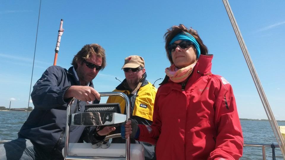 Positive Kundenerfahrungen beim Skippertraining