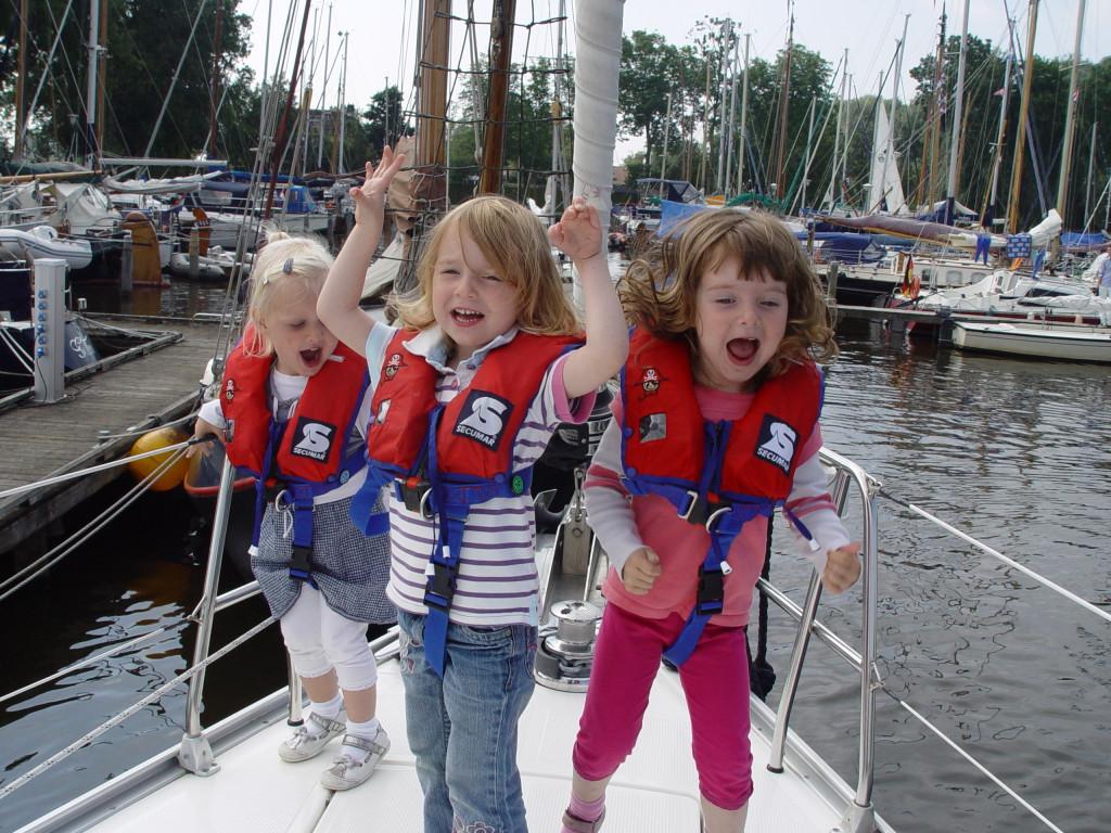 Segeln mit Kindern am IJsselmeer