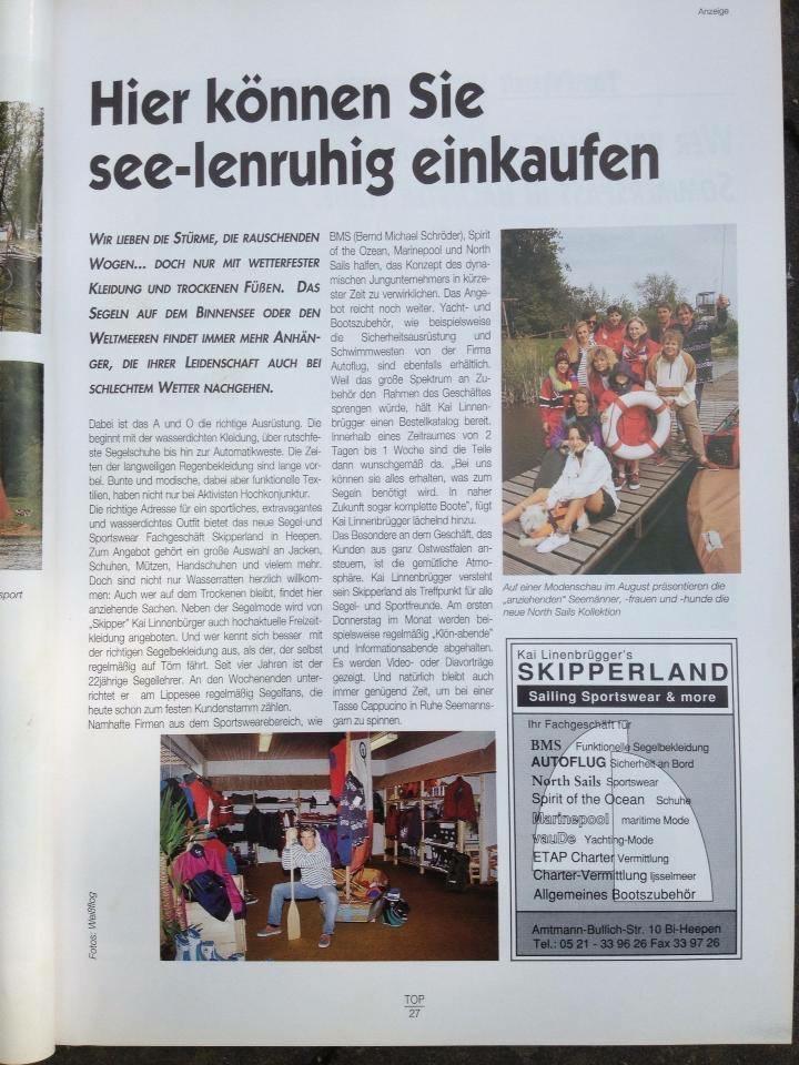 PR aus TOP Magazin