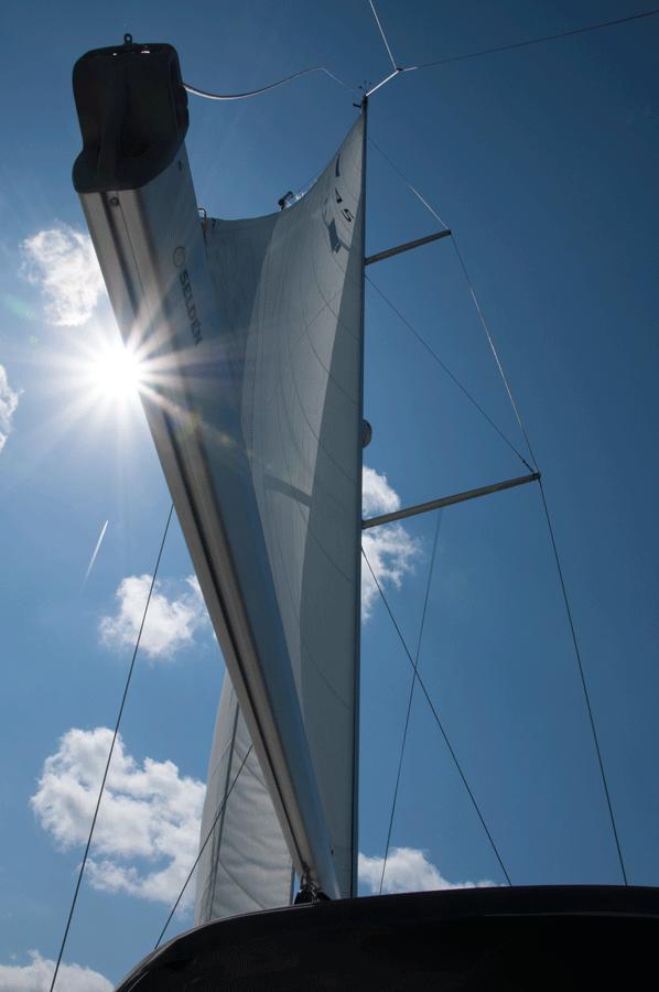 Segeln Sonne 45 IJsselmeer
