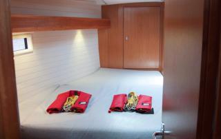 Zwei Vorschiff Kabinen Bavaria 45