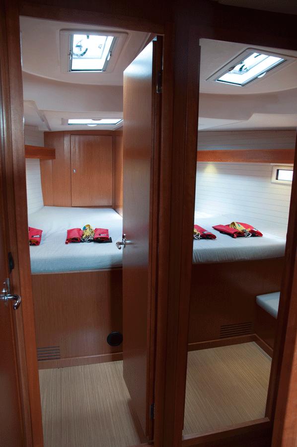 Vorschiff auf Bavaria 45 Cruiser