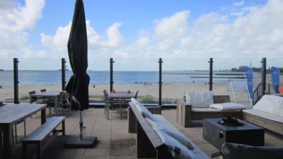 Beachclub am Strand in Lemmer
