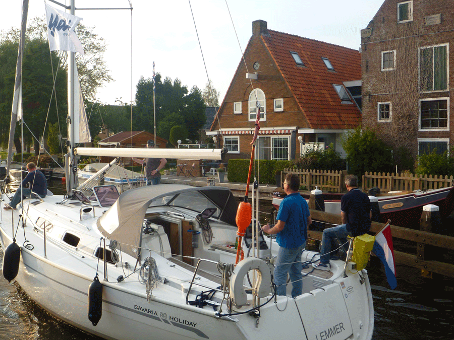 Stadtfahrt beim Skippertraining