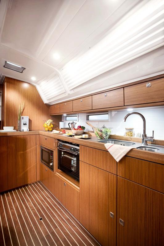 Bavaria Cruiser 46 Pantry